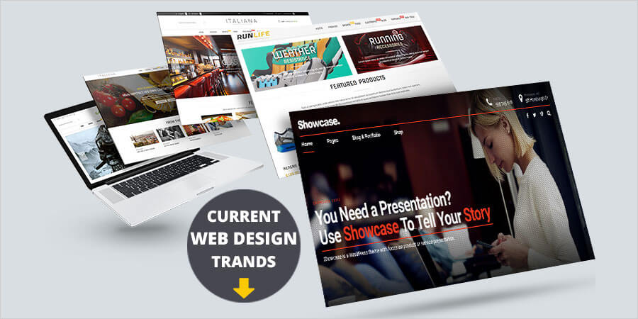 Current Web Design Trandes