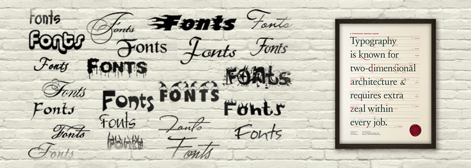 Free Fonts Banner